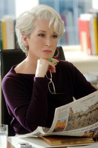 Der Teufel trägt Prada (mit Meryl Streep, Anne Hathaway und Adrian Grenier)